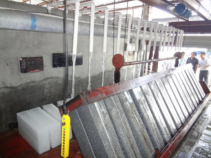 1T - 10T Stainless Steel Industrial Block Ice Machine For Fishery