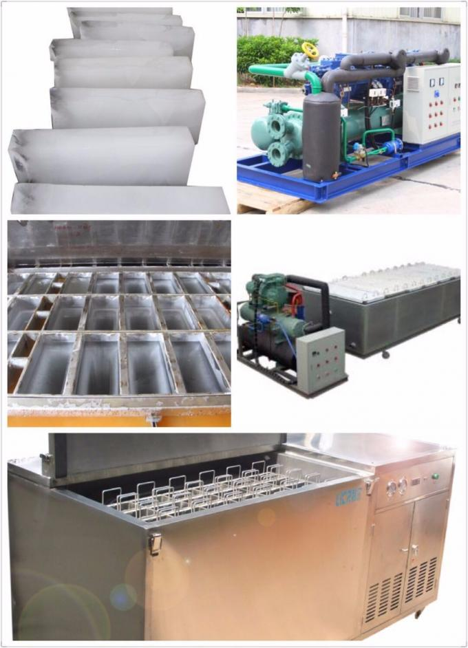 Lier 1ton to 10ton containerized ice block machine