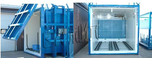 Large Capacity Vacuum Cooling Equipment Easy Operation 1500kg Per Circle