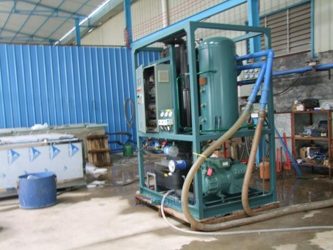 LRT-1T Tube Ice Machine /  Tube Ice Plant With Imported Compressor