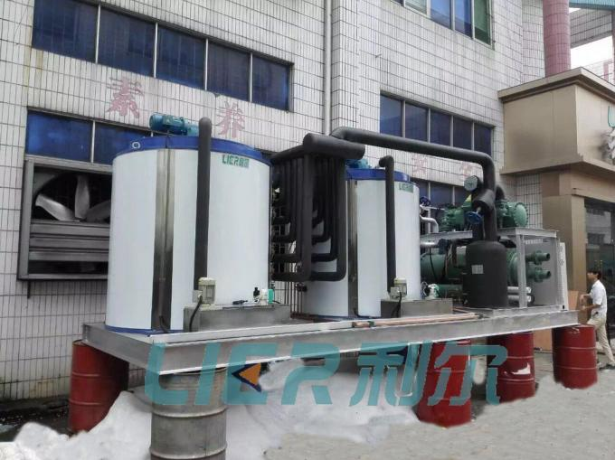 PLC Control Flake Ice Machine With 60 Ton Daily Output CE / ISO Approved