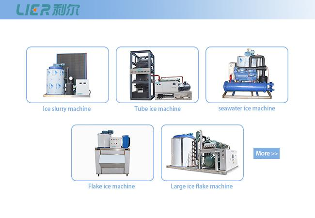 SS316 Material  Liquid Ice Machine , Slurry Ice Machine For Cooling Down Food Temperature