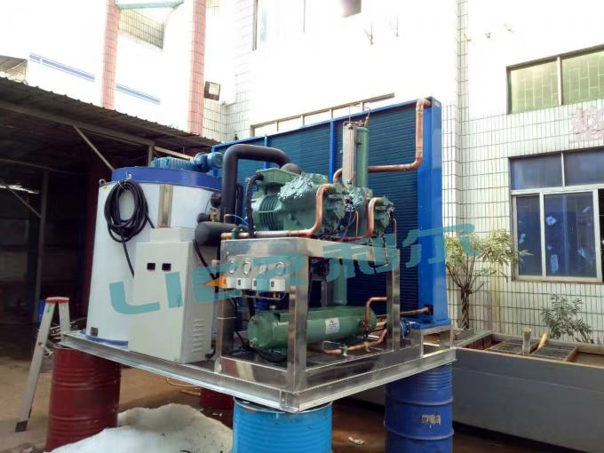 Automatic Industrial Flake Ice Machine Water Saving With Easy Copper Tube Connect