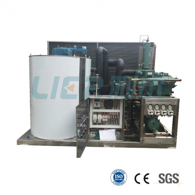 CE LVD Conformity 10 Ton Flake Ice Machine