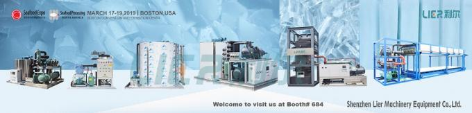 SS304 Ice Flake Maker , 10 Tons Commercial Ice Making Equipment CE Approval