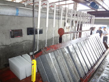 China 1T - 10T Stainless Steel Industrial Block Ice Machine For Fishery supplier