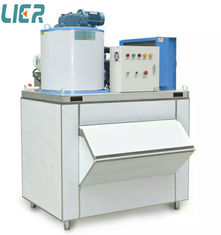China Commercial Ice Making Equipment , 500kg/Day Flake Ice Plant For Hotel supplier