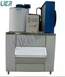 China 1000kg/24h Portable Flake Ice Maker With Danfoss Compressor LR-1T supplier