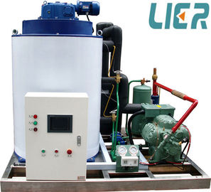 China CE Approved Ice Flake Machine , Commercial Ice Making Equipment For Fish Processing supplier