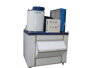 China PLC Control Industrial Ice Making Machine Touch Screen Compact Structure supplier