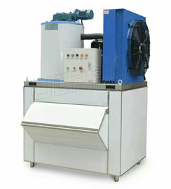 China 7.3KW Commercial Flake Ice Machine For Cooling Seafood Vegetables supplier