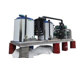 China 40T Large Capacity Ice Machine With Two Sets Of Evaporators / One Unit supplier