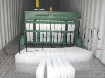 China Energy Saving Industrial Ice Block Making Machine Anti Corrosion supplier