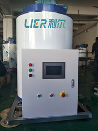 China CE Approved 6 Ton  Flake Ice Machine Evaporator Large Scale LRD-6T supplier
