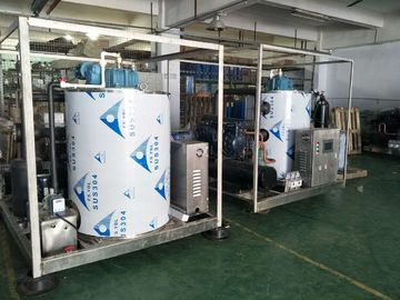 China PLC Control Utmost Output 6Ton Seawater Flake Ice Maker Machine for Sale supplier