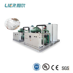 China Fresh Water Commercial Flake Ice Machine Capacity 0.5T ~ 60T , Bitzer Compressor supplier