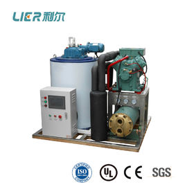 China 5T Bitzer Seawater Flake Ice Machine , GEA compressor with CE approval supplier