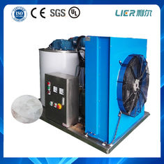 China 15 Years Operating Life 1T Flake Ice Maker 1000kg Copeland , Bitzer Compressor supplier