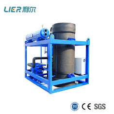 China 20T / Day Ice Tube Maker Machine Water - Cooled 125 Kw Ref Capacity PLC Electric Control supplier