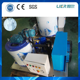 China 1ton air cooling flake ice maker machine danfoss , copeland compressor supplier