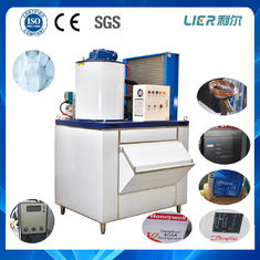 China 1 ton flake ice maker machine 98.6kw for fishery air cooling supplier