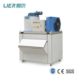 China Commercial Flake Ice Machine / Ice Maker Ice Capacity 1 ton Carbon steel / stainless steel supplier