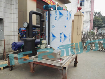 China 10 Ton Seawater Flake Ice Machine On Fishing Boat For Fishing Ice System supplier