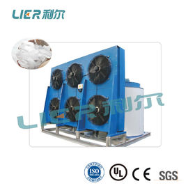 China Industrial Big Flake Ice Machine , Flake Ice Making Plant Air Cooling / Water Cooling supplier