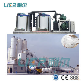 China Easy Control Flake Ice Maker Machine 40 Ton With Ice Transport System supplier