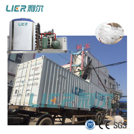 China Containerized Flake Ice Plant 50 Ton With Ice Storage System Construction supplier