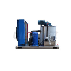 China Danfoss Compressor Flake Ice Machine , 1.5T / Day Ice Making Machine Industrial supplier