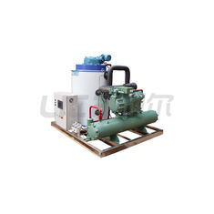 China Commercial Flake Seawater Flake Ice Machine 3P/380V/50Hz 12 Months Warranty supplier