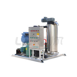 China 3P/380V/50Hz Industrial Ice Machine , Slurry Ice Making Equipment Small Size supplier