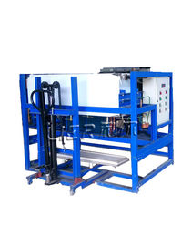 China 1 Tons Block Ice Making Machine With Integral Unit Structure 480KG Water Consumption supplier