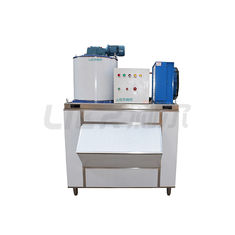 China 1000kg Daily Output Small Commercial Ice Machine With Germany Bitzer Compressor supplier