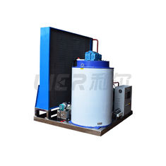 China 5T Per Day Seawater Flake Ice Machine , Air Cooling Flake Ice Making Machine supplier