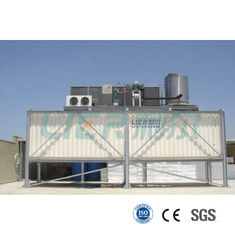 China Innovative Reliable  Flake Ice Machine R404A Refrigerant For Industrial Cooling Solution supplier