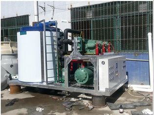 China Thermal Storage Industrial Ice Making Machine 160kw Total Power LR-30T supplier