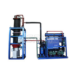 China Quickly Freezing Tube Ice Machine , Automatic Cylinder Ice Machine20 Ton / 24h supplier