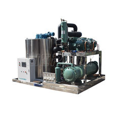 China CE/IOS9001 Approval Industrial Ice Making Machine Bitzer / Copeland / Danfoss Compressor supplier