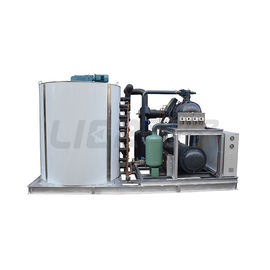 China R404A / R22 Refrigerant Industrial Ice Maker Machine With CE/IOS9001 Approval supplier