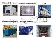 China Easy Operation Containerized Block Ice Machine Commercial 3P-380V-50HZ factory