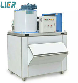 China Commercial Ice Making Equipment , 500kg/Day Flake Ice Plant For Hotel distributor