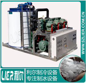China PLC Control Large Capacity Ice Machine Easy Install 3695*2090*2050mm distributor