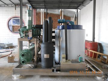 China 10000kg/Day Industrial Ice Making Machine , Commercial Grade Ice Machine distributor