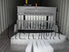 China LIER 4000 KG Containerized Ice Plant , Ice Block Maker Easy Maintenance distributor