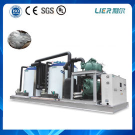 China Mini computer industrial ice making machine  PLC controller fresh water 15T for frozen seafood factory