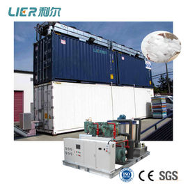 China 60 Ton Flake Ice Machine With Cold Storage , Industrial Flake Ice Maker Equipment distributor