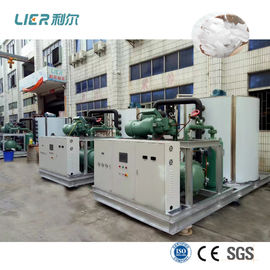 China Industrial Flake Ice Making Machine Ice Cooling For Mixing Batching Plant factory