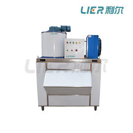 China Small Commercial Flake Ice Maker Machine 1.49KW With Bizter Compressor factory